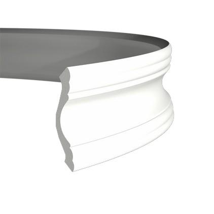 Карниз гибкий из полиуретана 1.50.102F