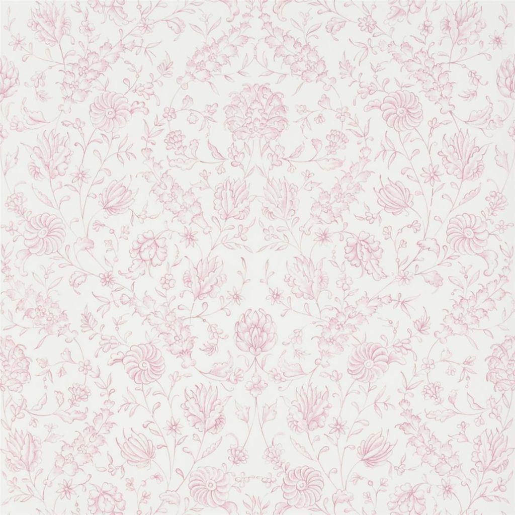Английские обои Designers guild,  коллекция The Royal Collection - Rosa Chinensis, артикулPQ009/03