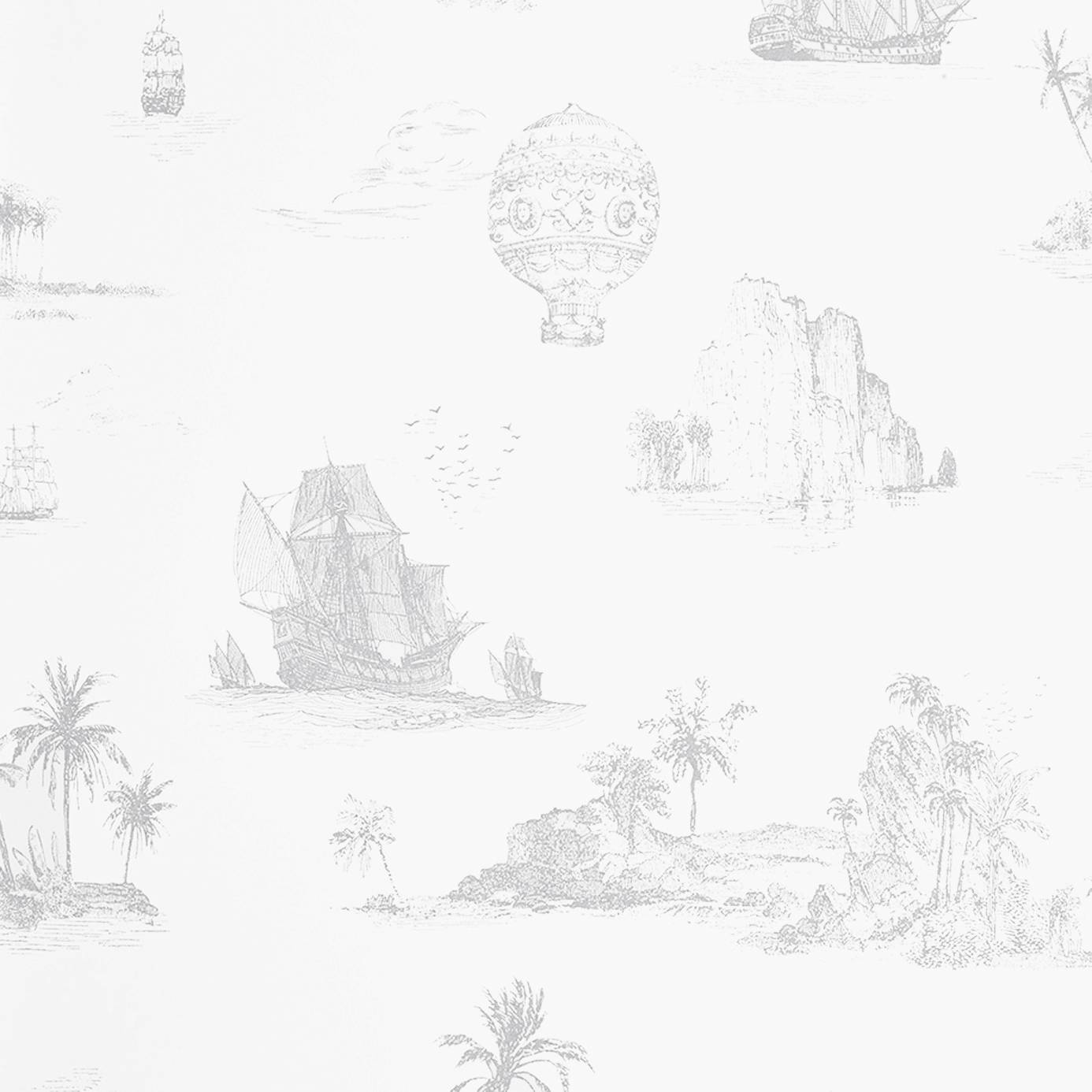 Французские обои Casadeco,  коллекция So White 2, артикулSWI22959118