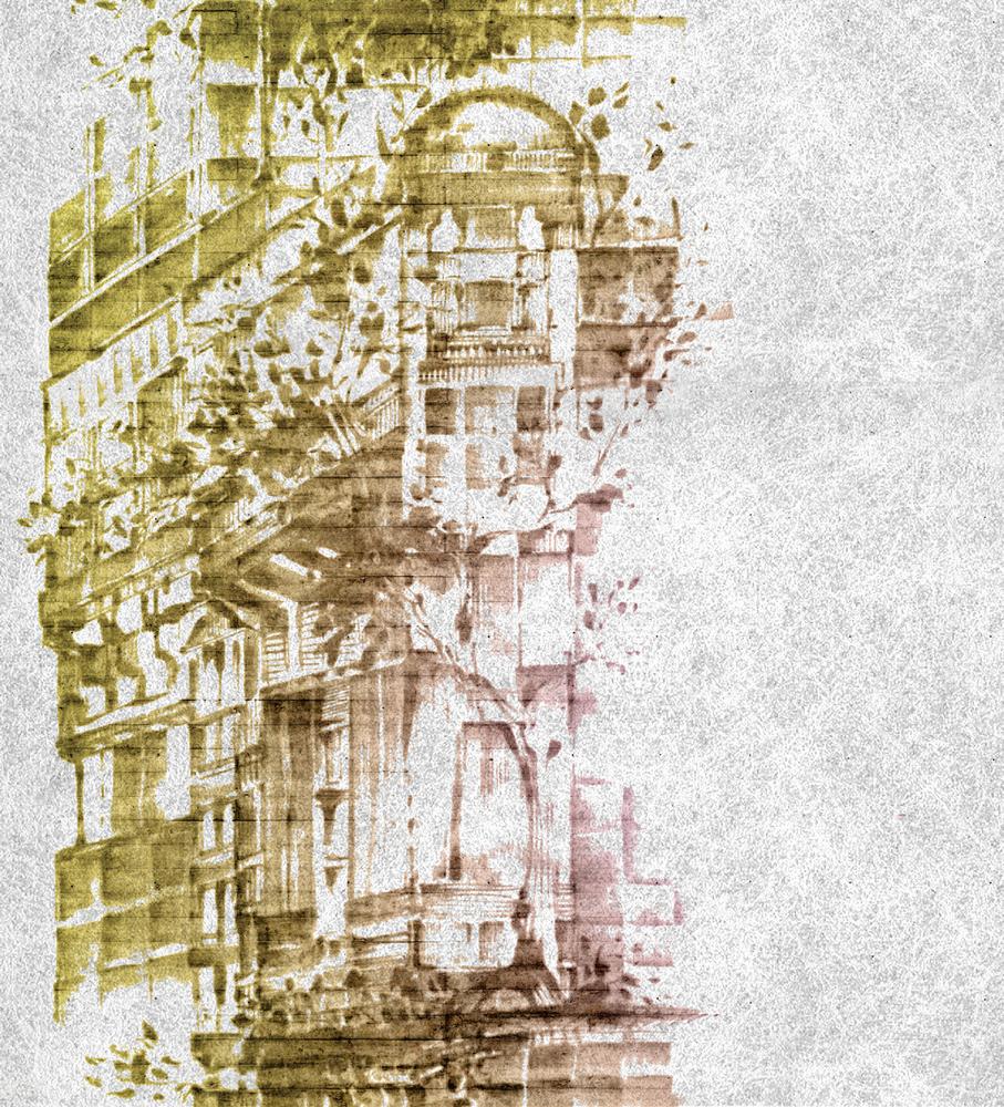Итальянские обои J Wall,  коллекция 1002 Pandora, артикулWJC00203