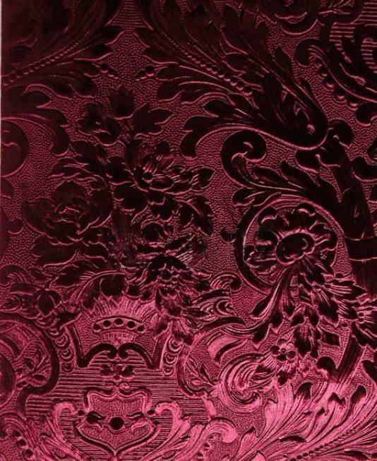 Французские обои Zuber,  коллекция Anastasia, артикул374-BORDEAUX