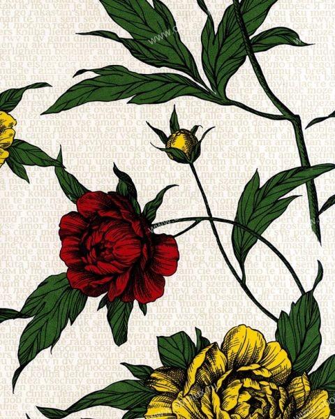 Шведские обои Eco,  коллекция Rose, артикул2775