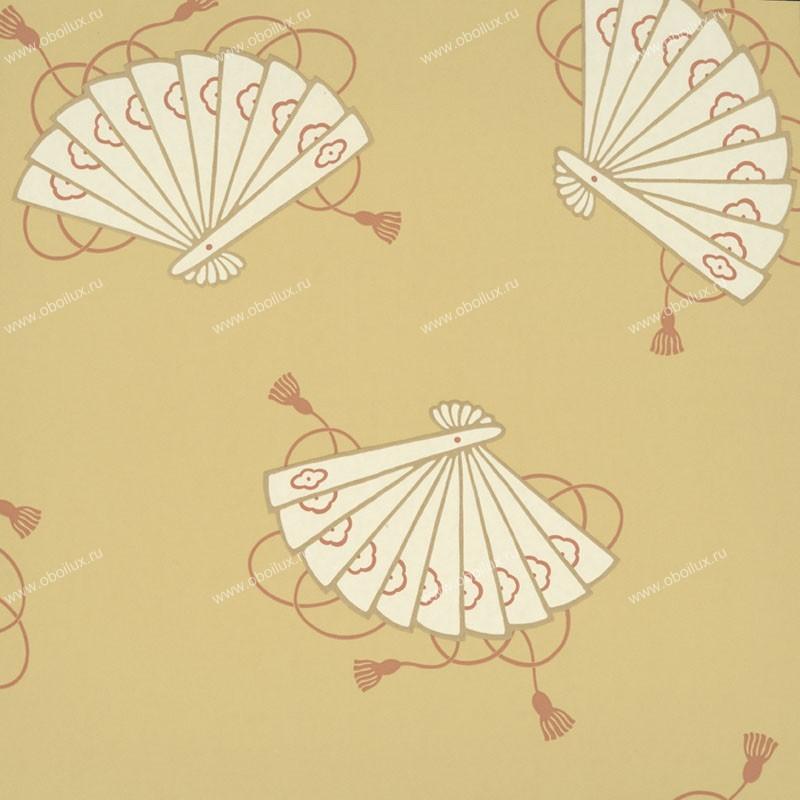 Английские обои Little Greene,  коллекция Oriental Wallpapers, артикул0275SHSUNLI