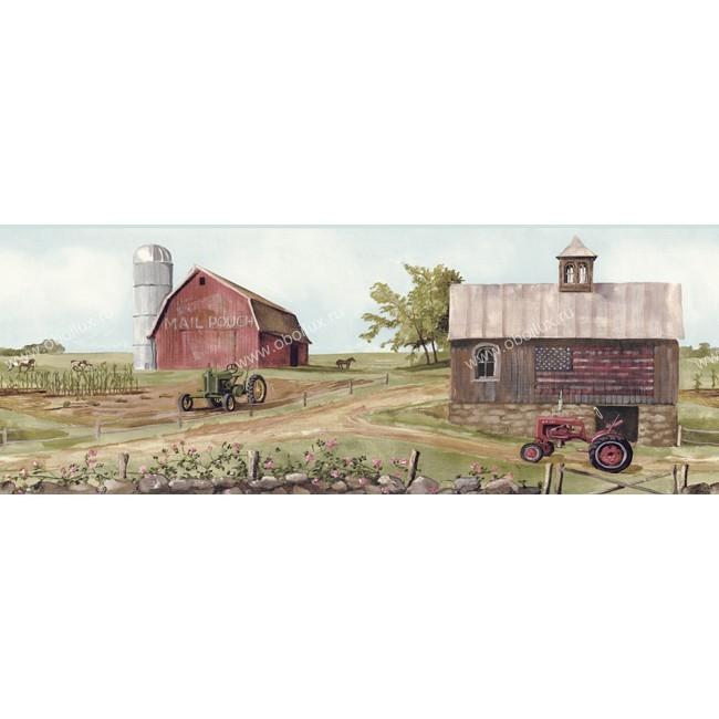 Американские обои York,  коллекция Border Portfolio, артикулBG1635BD