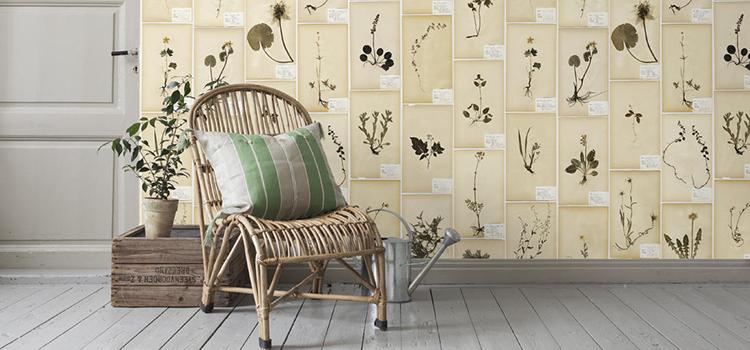 Шведские обои Boras Tapeter, коллекция Garden Party, артикул 3482