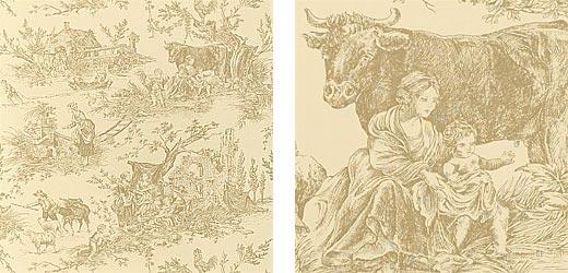 Американские обои Thibaut,  коллекция Toile Portfolio, артикулT7304