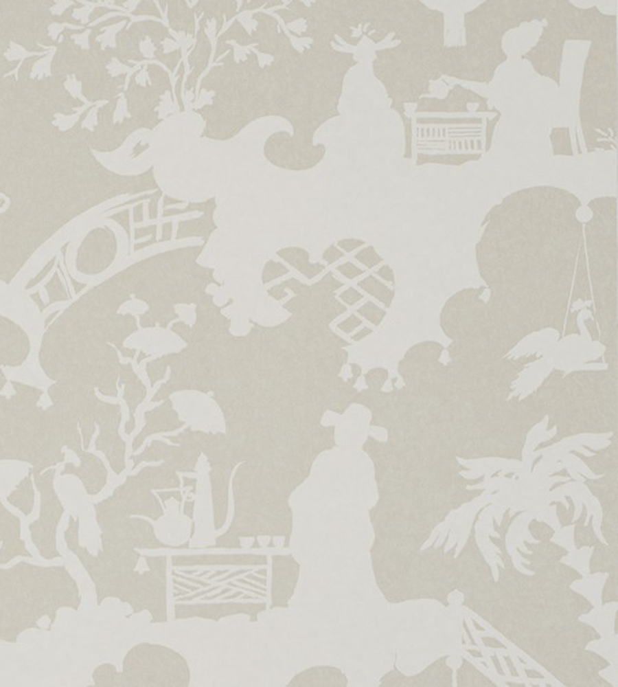Тайские обои Jim Thompson,  коллекция Pagoda and Palms, артикулWR1010/05