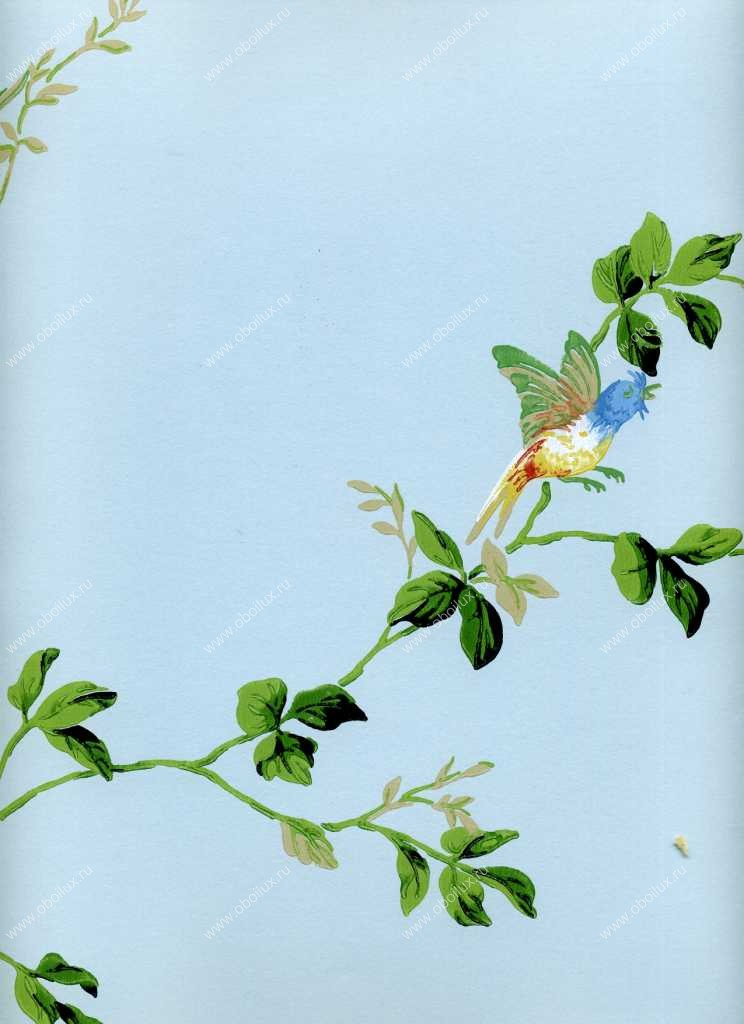 Американские обои York,  коллекция Ashford House - Flowers S.E., артикулDL0734