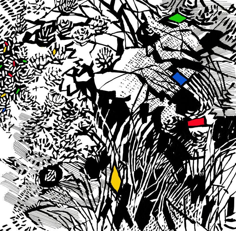Шведские обои Mr Perswall,  коллекция Street Art, артикулP201901-6