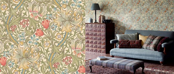 Английские обои Morris & Co,  коллекция Archive Wallpapers, артикул210398