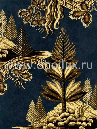 Английские обои Zoffany,  коллекция Fleurs Rococo, артикулFLW02005