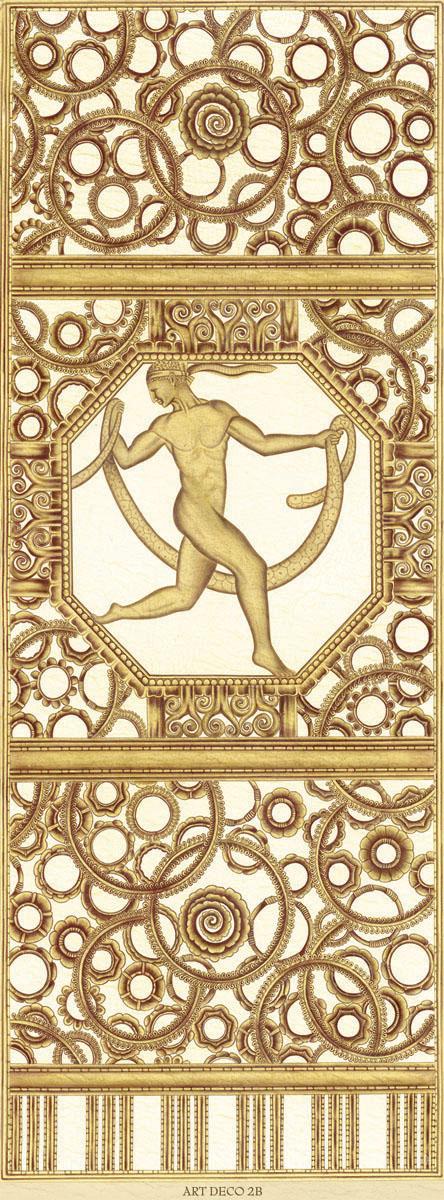 Английские обои Iksel,  коллекция Scenic & Architectural Wallpapers, артикулArtDecoThereeGracesARTDECO2B