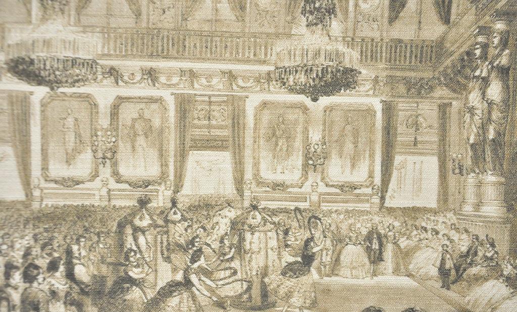 Итальянские обои Sangiorgio,  коллекция Acqueforti, артикулA/07