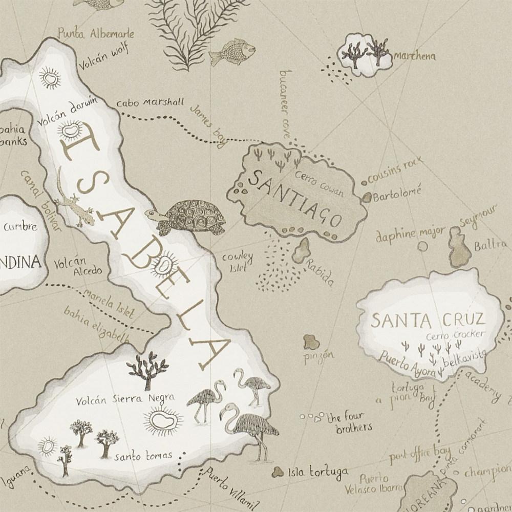 Английские обои Sanderson,  коллекция Voyage of Discovery, артикул213365