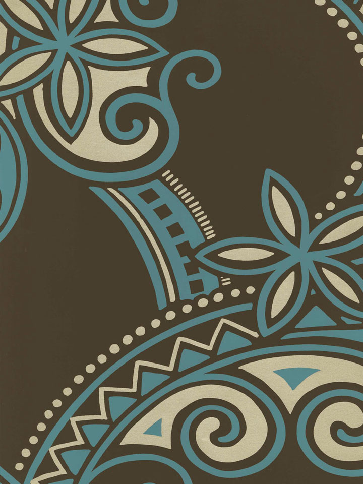 Канадские обои Blue Mountain,  коллекция Shand Kydd 2, артикулSK153175
