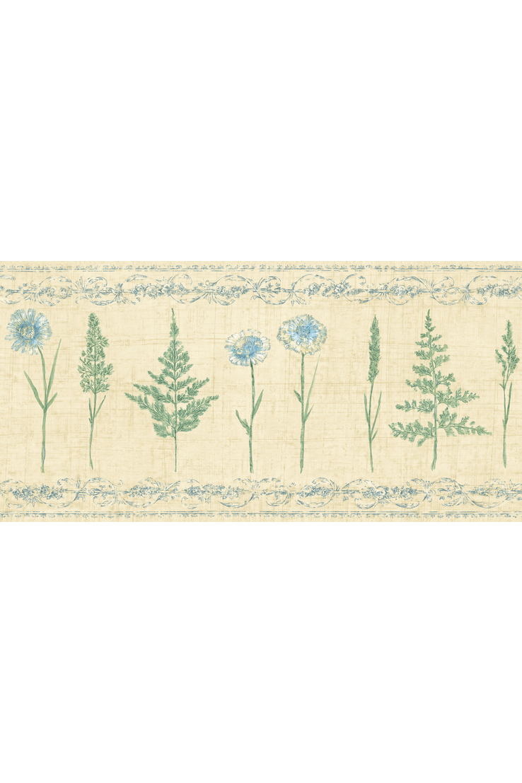 Канадские обои Blue Mountain,  коллекция Borders, артикулBC1583713