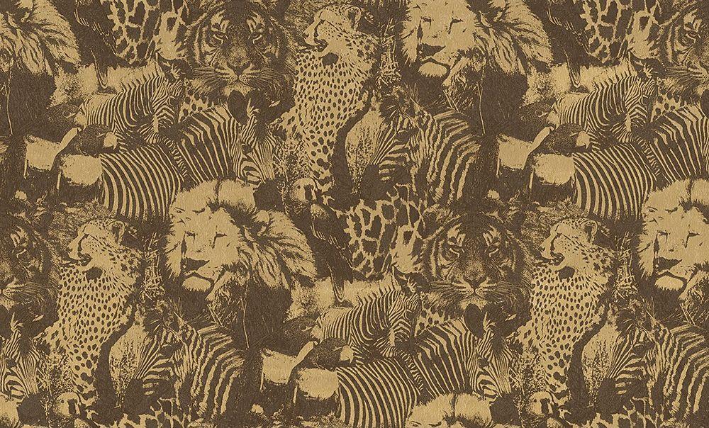 Немецкие обои A. S. Creation,  коллекция Jungle, артикул96243-5