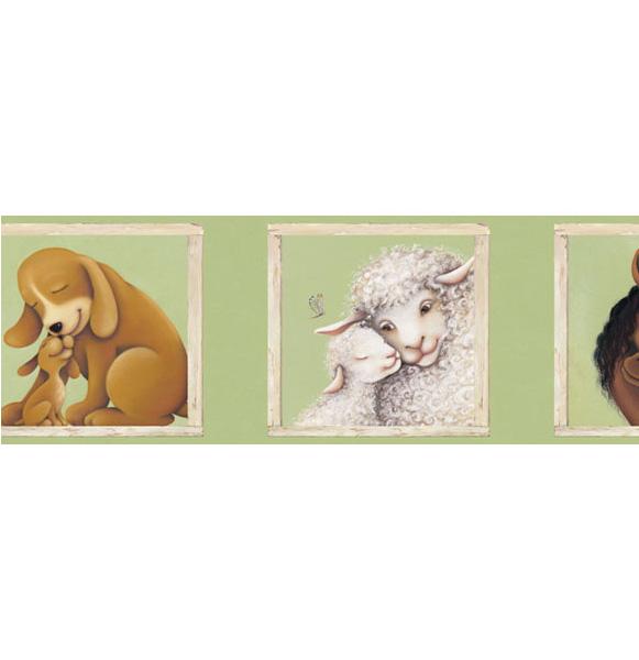 Американские обои 4Walls,  коллекция Kids Portfolio I, артикулKP1289B