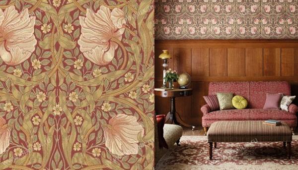 Английские обои Morris & Co,  коллекция Archive Wallpapers, артикул210386