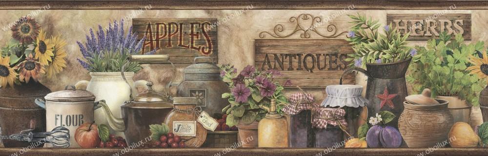 Американские обои Chesapeake,  коллекция Pure Country, артикулPUR44582B