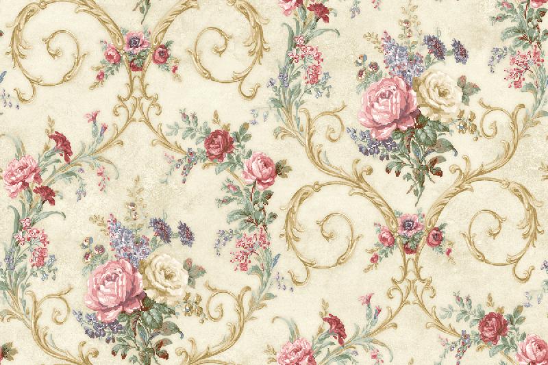Американские обои Wallquest,  коллекция The Hampton House, артикулSM70402