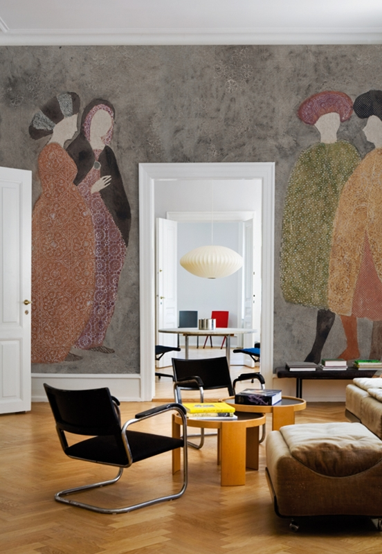 Итальянские обои Wall & deco,  коллекция Life 14, артикулWDAG1401-A