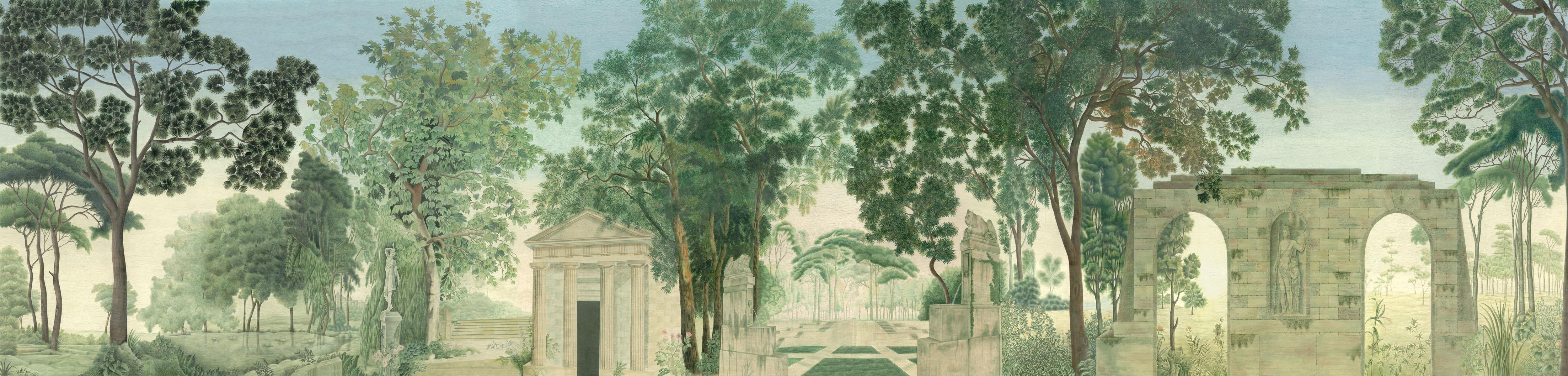 Английские обои Iksel,  коллекция Scenic & Architectural Wallpapers, артикулItalianPanoramic