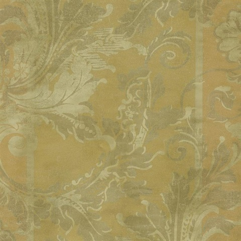 Американские обои York,  коллекция Gold Leaf, артикулGF0788