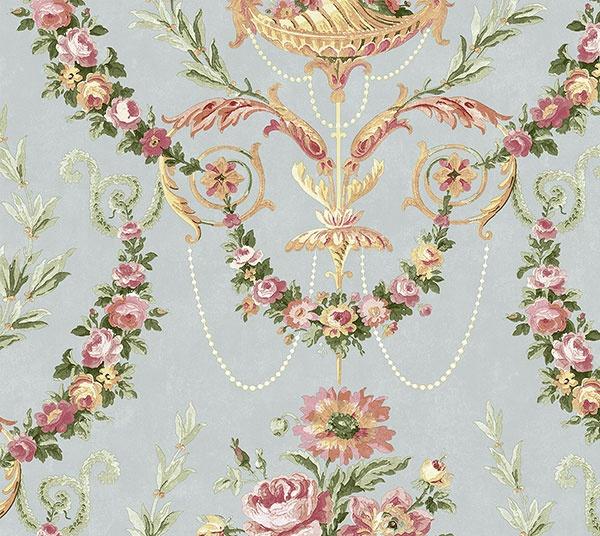 Немецкие обои KT-Exclusive,  коллекция Parisian Florals, артикулFV61001