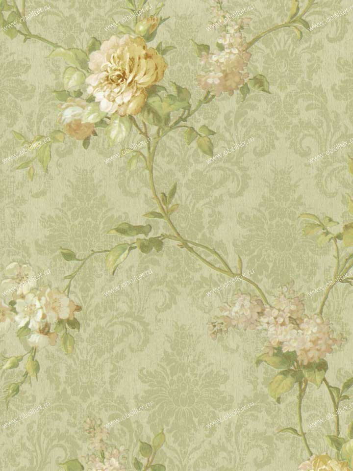 Американские обои Brewster,  коллекция Madison Florals, артикул282-64059