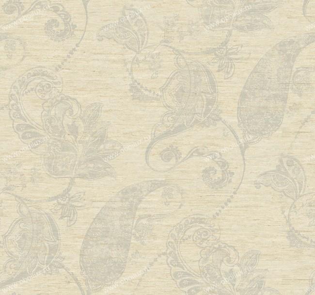Американские обои York,  коллекция Ronald Redding - Silver Leaf, артикулPM9234