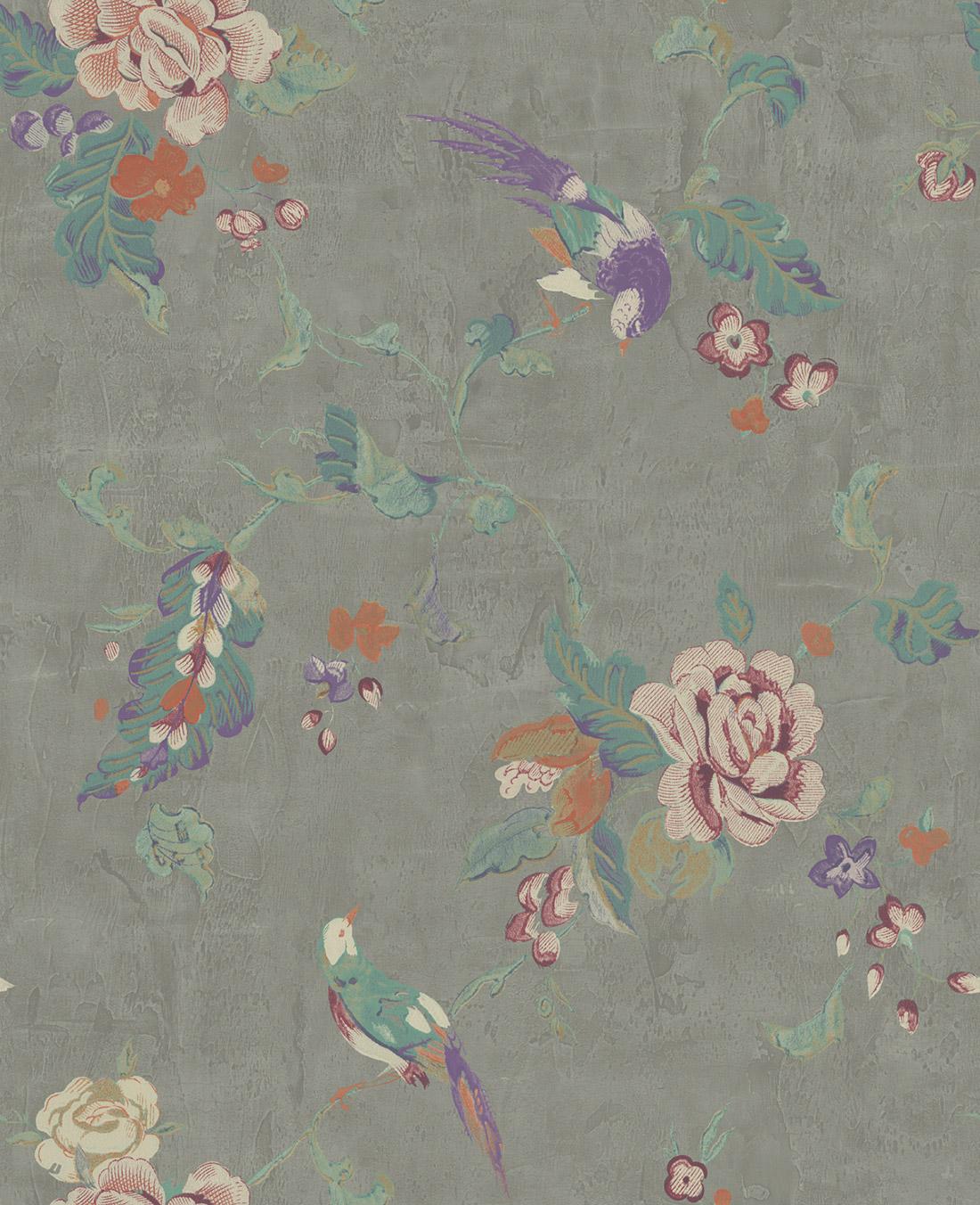 Американские обои Wallquest,  коллекция Watercolor Florals, артикулMF20009