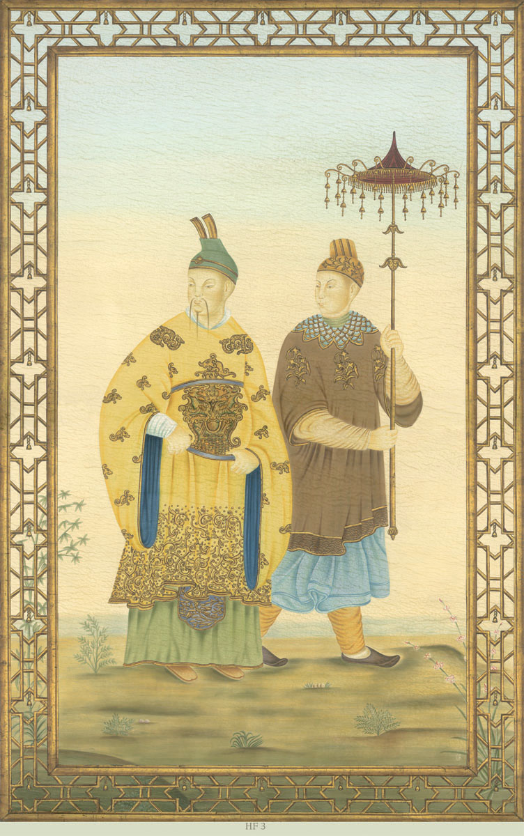 Английские обои Iksel,  коллекция Scenic & Architectural Wallpapers, артикулChineseFantasyHF3