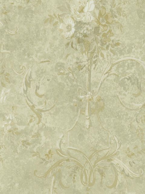 Американские обои Wallquest,  коллекция Sandpiper Studios - Versailles, артикулVS40007