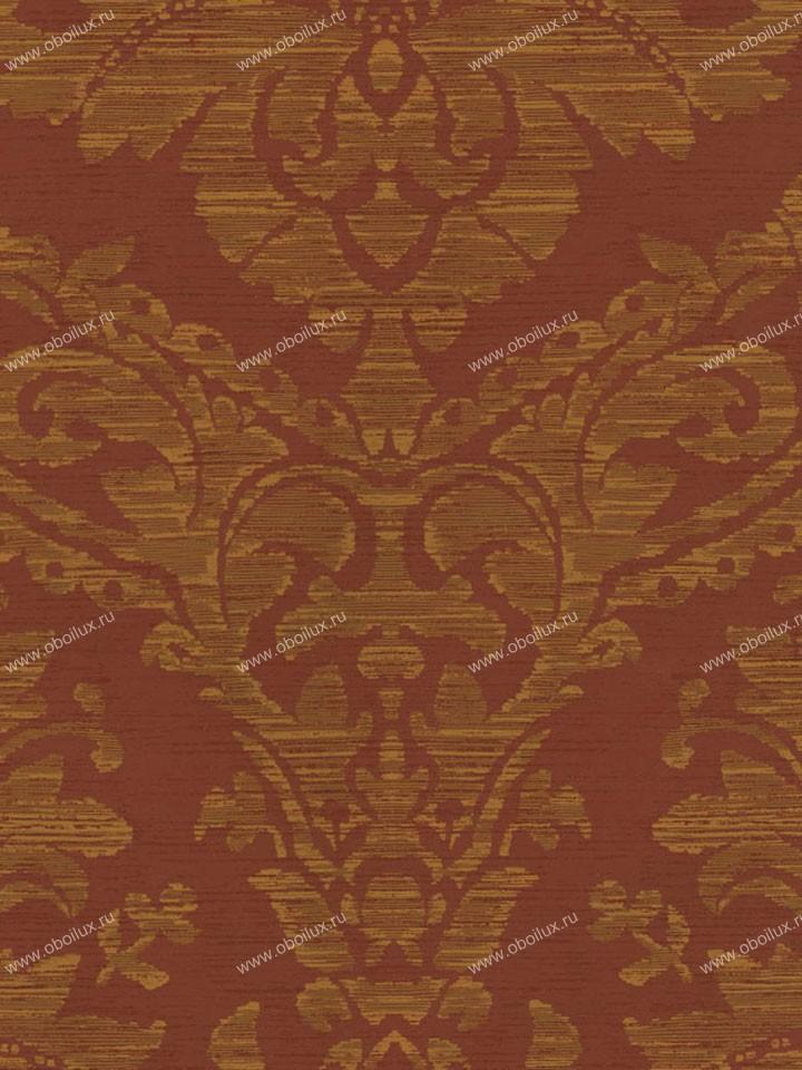 Американские обои Stroheim,  коллекция Color Gallery Cinnabar and Saffron, артикул8600E0350