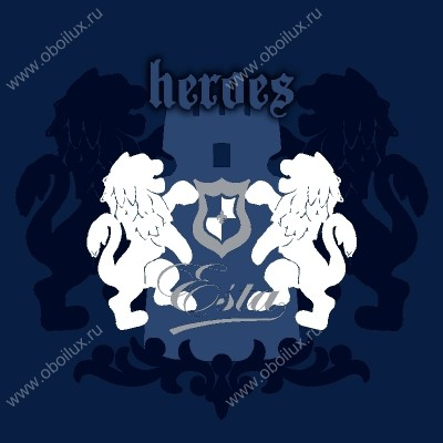 Обои  Esta Home,  коллекция Hearts & Heroes, артикул114921