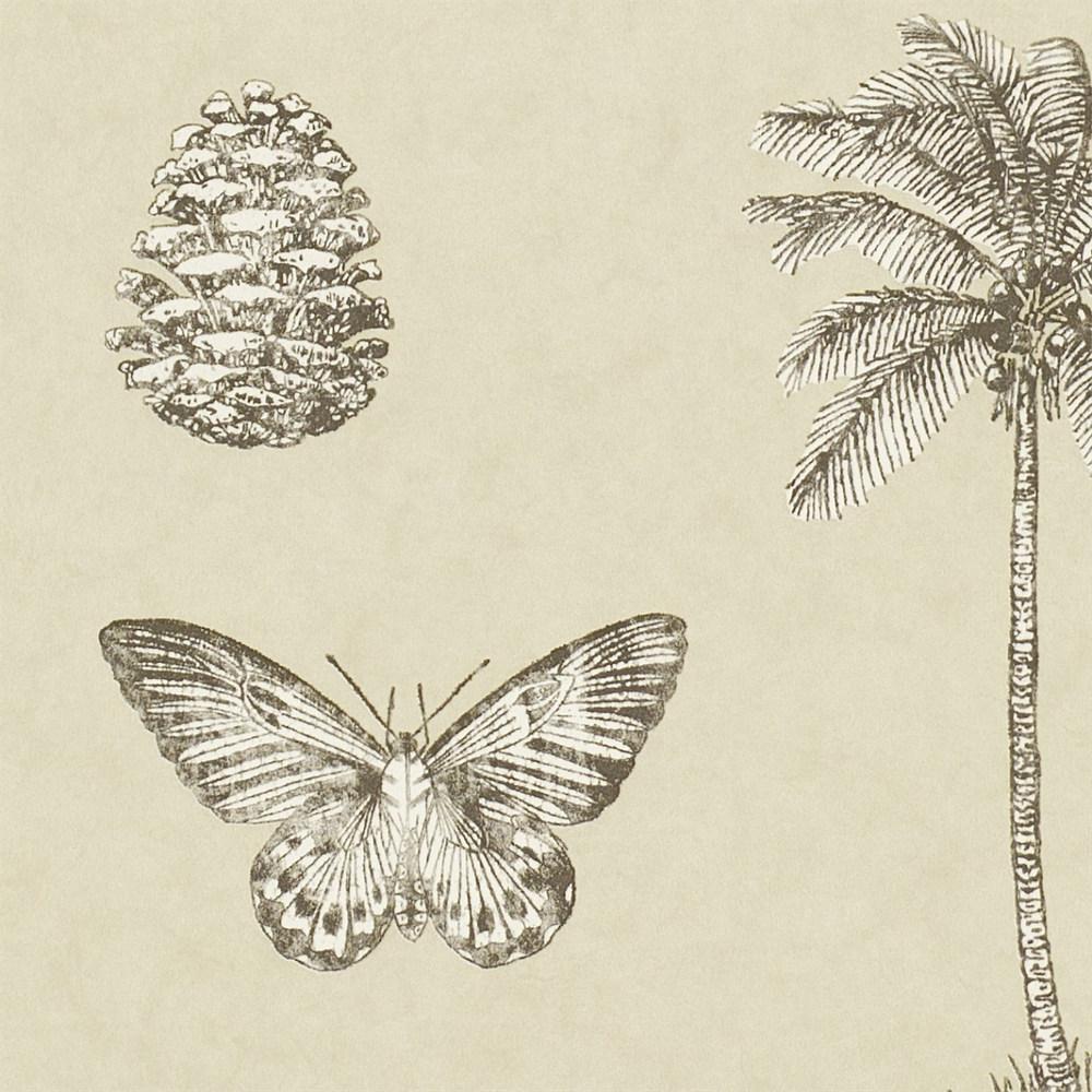 Английские обои Sanderson,  коллекция Voyage of Discovery, артикул213381
