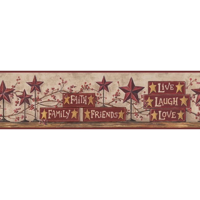 Американские обои York,  коллекция Hearts and Crafts III, артикулCB5504BD