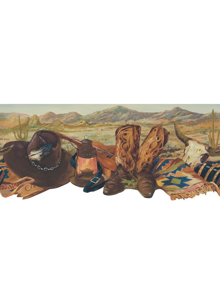 Канадские обои Blue Mountain,  коллекция Borders, артикулBC1581365