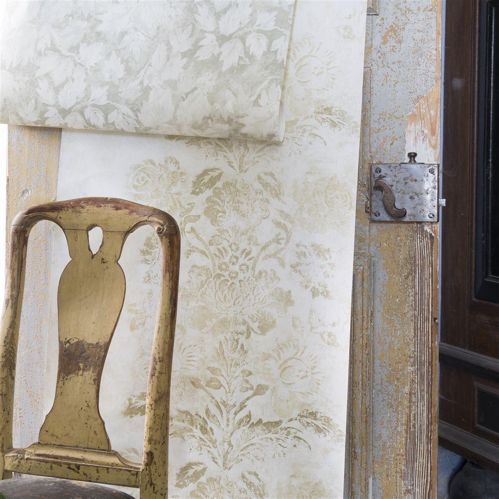 Английские обои Designers guild,  коллекция Caprifoglio Wallpapers, артикулPDG674-07