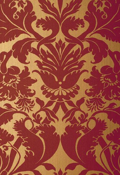 Американские обои Schumacher,  коллекция Palazzo Damasks, артикул529195