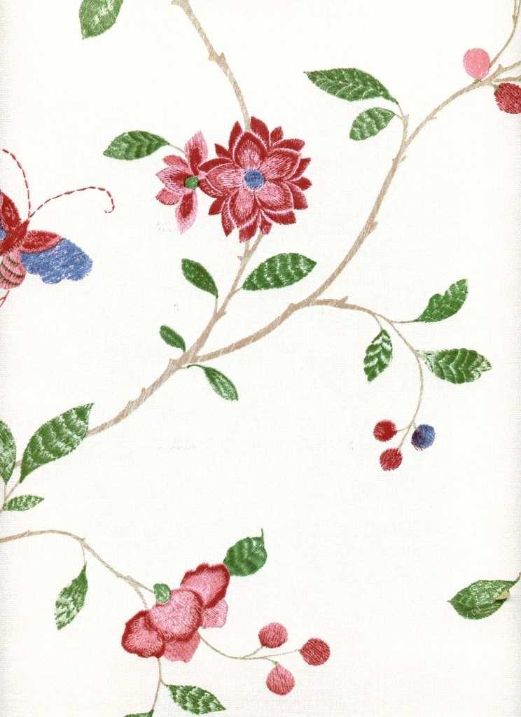 Американские обои York,  коллекция Ashford House - Flowers S.E., артикулWU0801