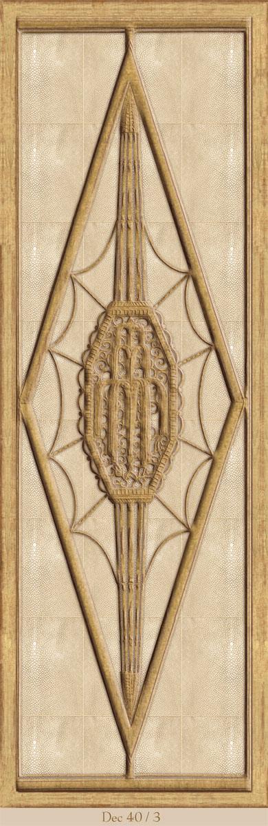 Английские обои Iksel,  коллекция Scenic & Architectural Wallpapers, артикул1940'sDecoDec40/3