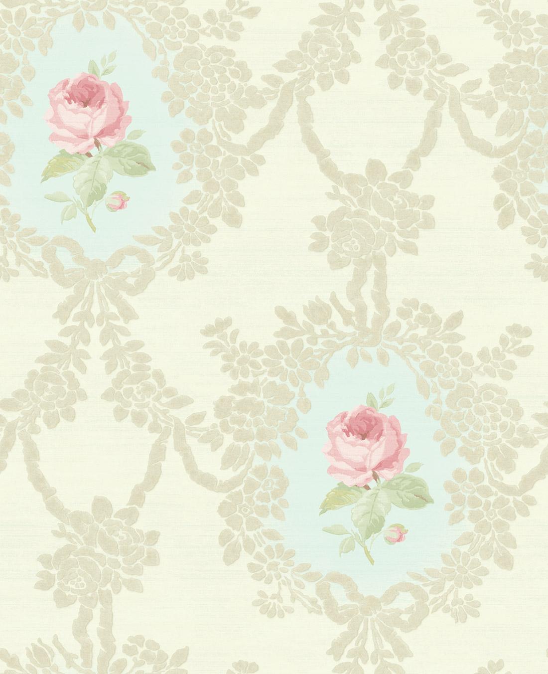 Американские обои Wallquest,  коллекция Watercolor Florals, артикулMF20202