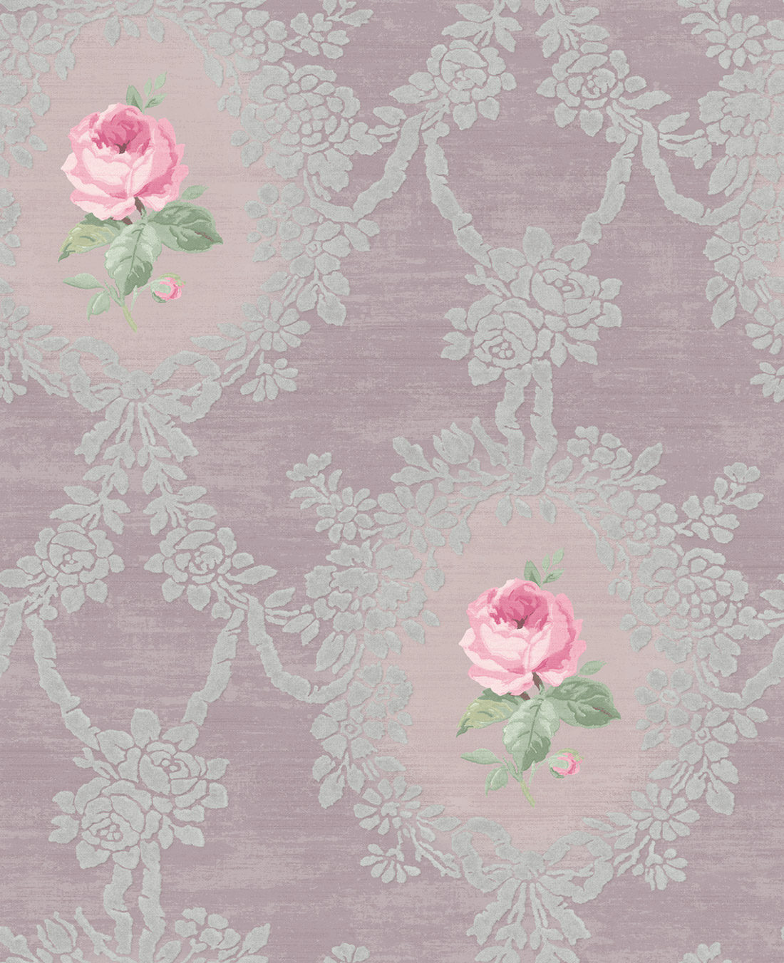 Американские обои Wallquest,  коллекция Watercolor Florals, артикулMF20209