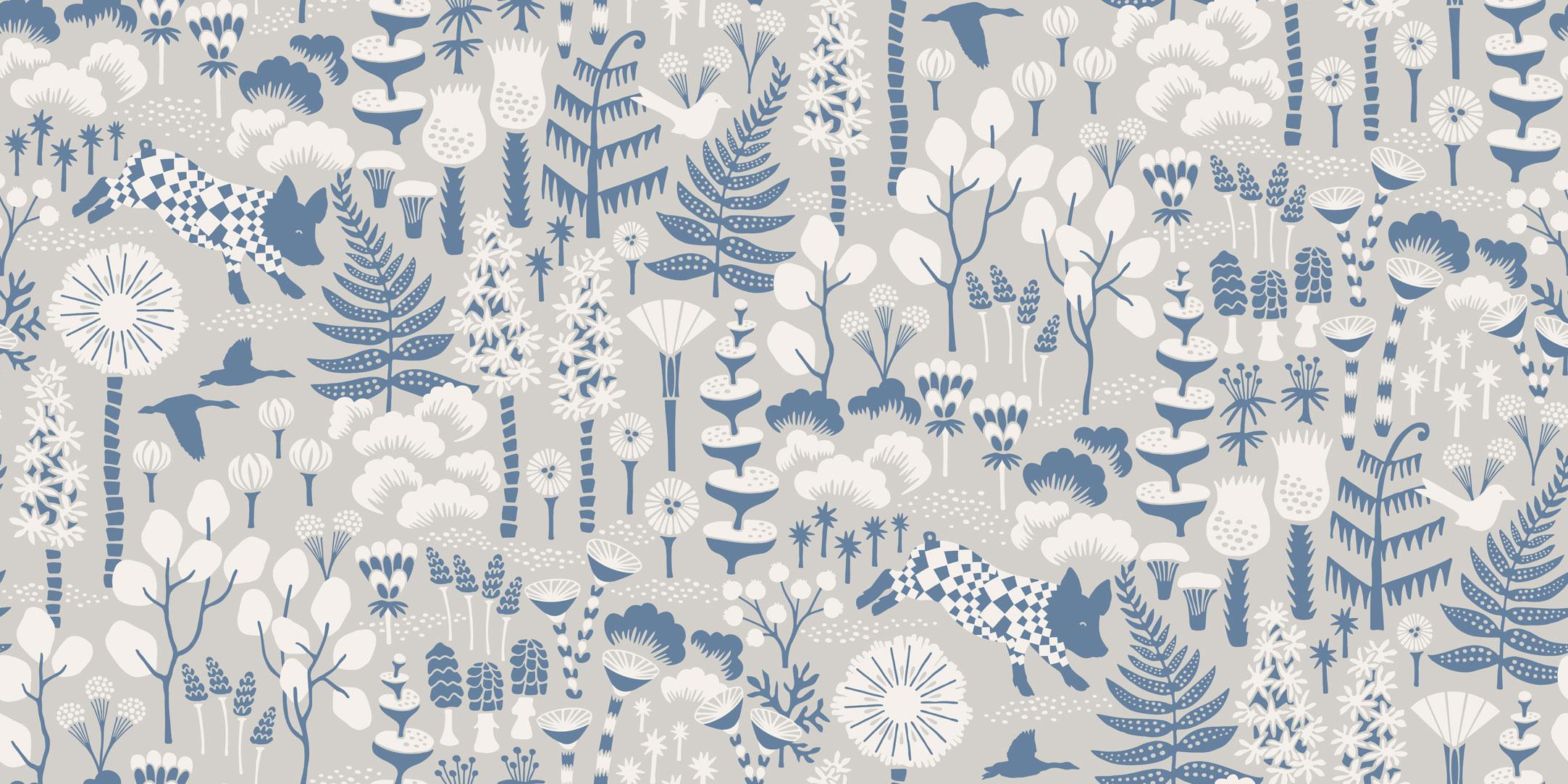 Шведские обои Borastapeter,  коллекция Wonderland by Hanna Werning, артикул1454