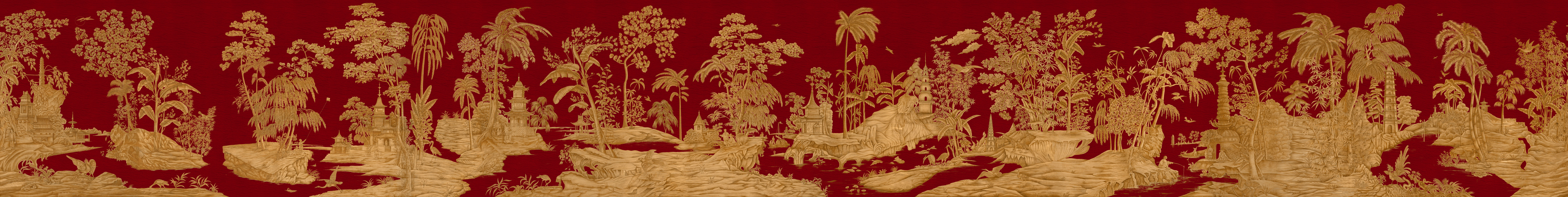 Английские обои Iksel,  коллекция Scenic & Architectural Wallpapers, артикулExoticChinoiserie
