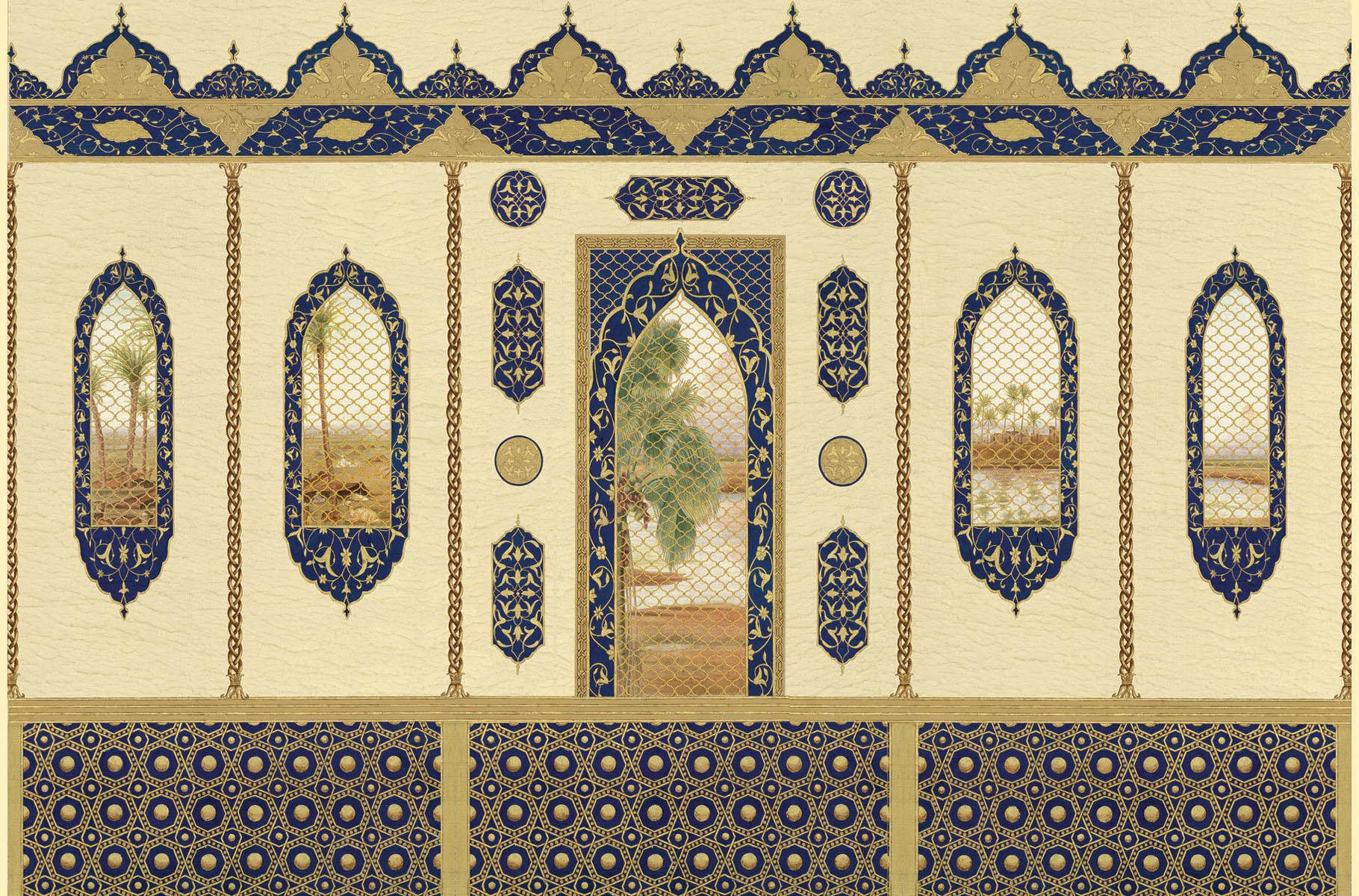 Английские обои Iksel,  коллекция Scenic & Architectural Wallpapers, артикулSheherazade
