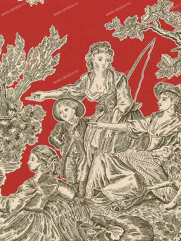 Американские обои Stroheim,  коллекция Color Gallery Crimson, артикул6671E0350