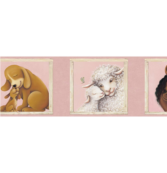Американские обои 4Walls,  коллекция Kids Portfolio I, артикулKP1290B